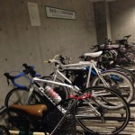 Bicycle-parking space at Omotesando Hills