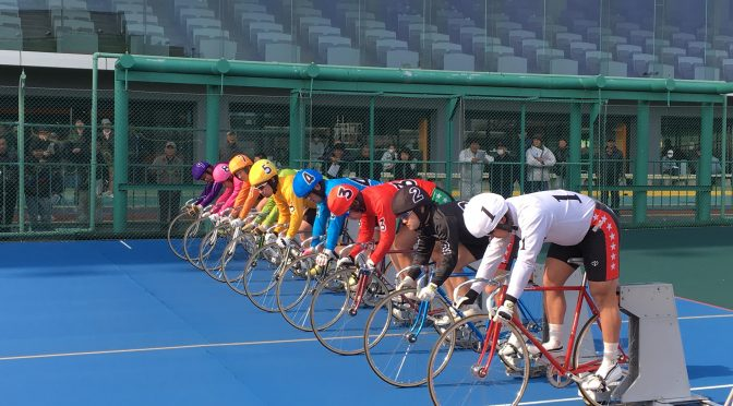 Athletic meeting at Tachikawa velodrome